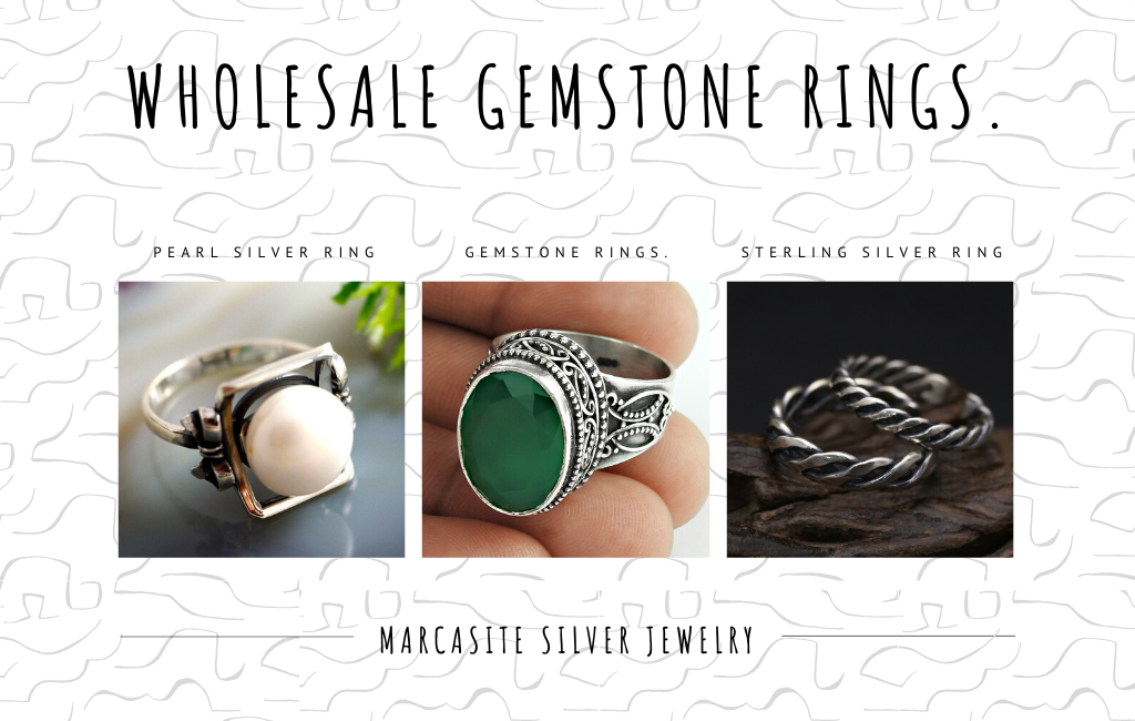 Gemstone Rings.
