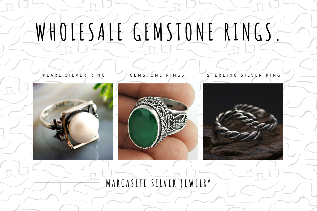 1.Wholesale Gemstone Rings.